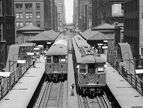 Charles E. Keevil photo, Chicago Transit Authority collection