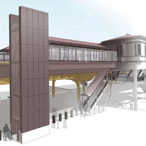 Artist Rendering of Quincy Station