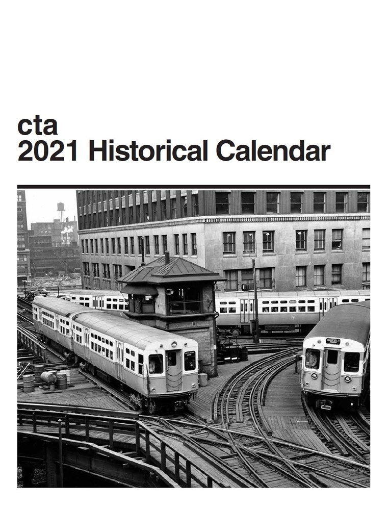 Cover of our 2021 Historical Calendar